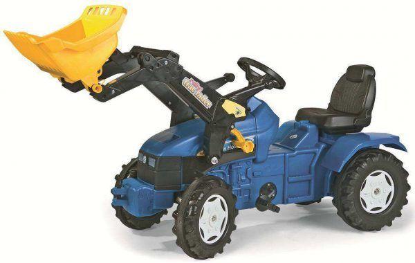 Tractor New Holland Junior con Pala 3
