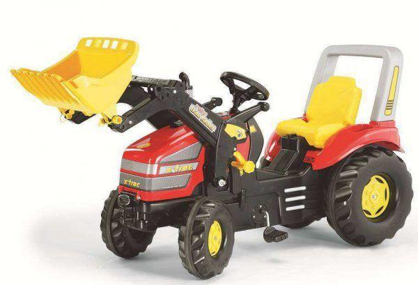 Tractor X-TRAC con Pala 3
