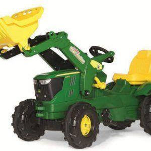 Tractor JD 6210 R con Pala incluida