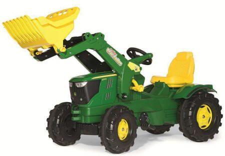 Tractor JD 6210 R con Pala incluida 3