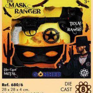 Estuche El Ranger Enmascarado 8 Tiros