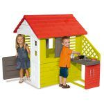 Casa infantil Nature II con cocina y accesorios de Smoby (810713)