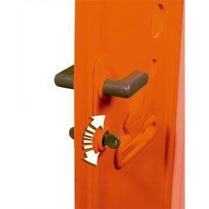 Puerta con picaporte para Jura Lodge II de Smoby (810905)
