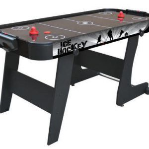 AIR HOCKEY PLEGABLE BLACK CITY