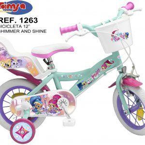 Bicicleta Shimmer and Shine 12″