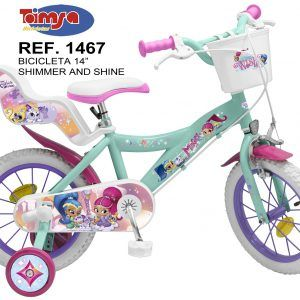 Bicicleta Shimmer and Shine 14″
