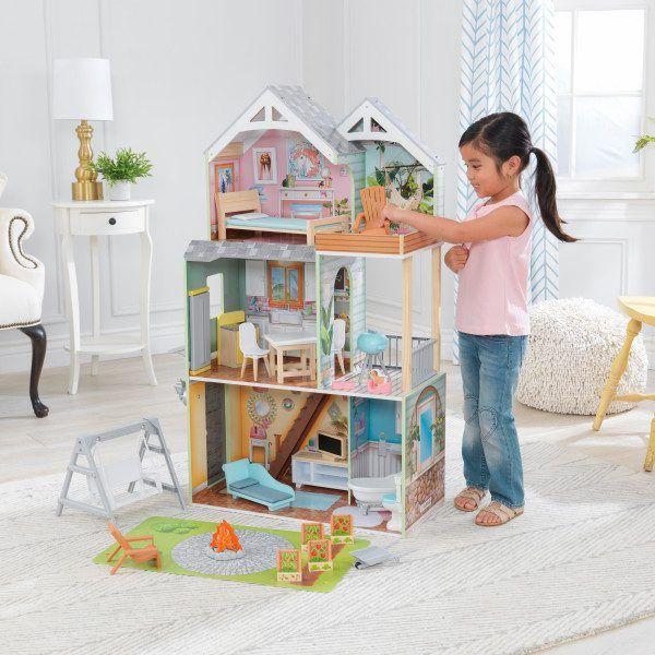 Kidkraft Casa De Muñecas Hallie 65980 3