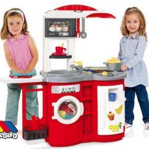 Cocinita de juguete Cook And Play Molto Roja