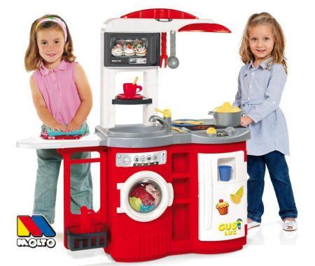 Cocinita de juguete Cook And Play Molto Roja 3