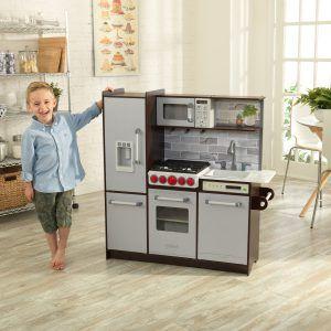 Cocina Uptown Elite Espresso 53426 | Mejor cocinita de madera infantil 2019
