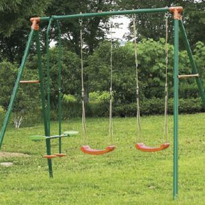 Columpio Infantil Triple Yuca