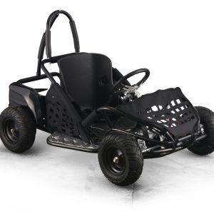 Kart Eléctrico Pekecars 48V 1000W Negro