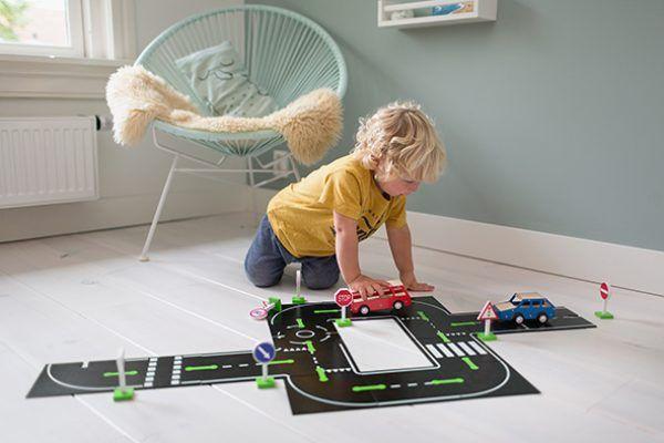 Set circuito de carretera y coches 3