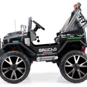 JEEP GAUCHO SUPERPOWER 24V 2 PLAZAS NEGRO