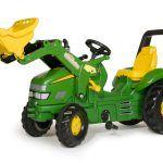 Tractor John Deere X-TRAC con Pala
