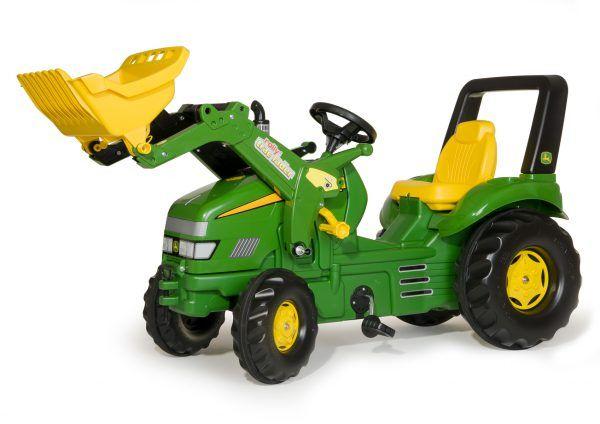 Tractor John Deere X-TRAC con Pala 3