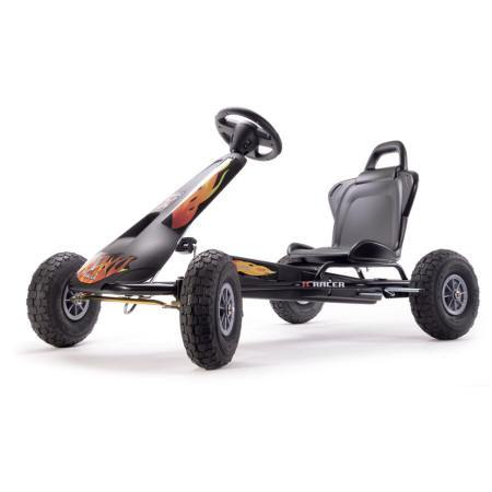 KART PEDALES AIR RACER NEGRO FUEGO 3