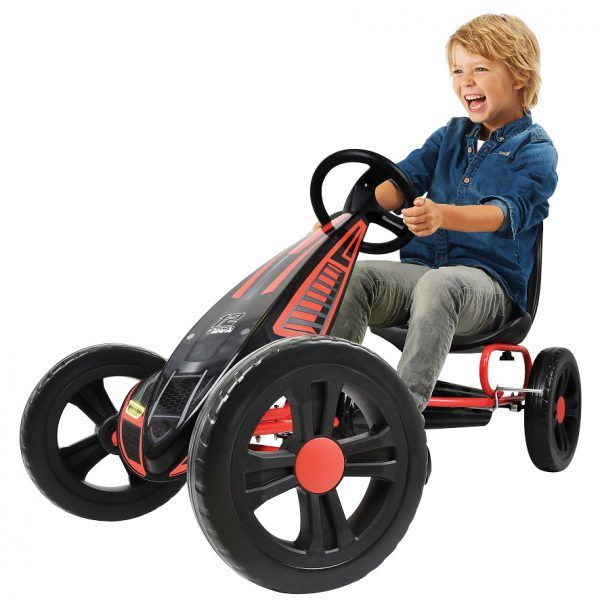 Kart a pedales Cyclone Rojo 3