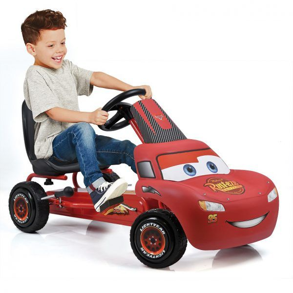 Kart a pedales Rayo McQueen de Cars 3