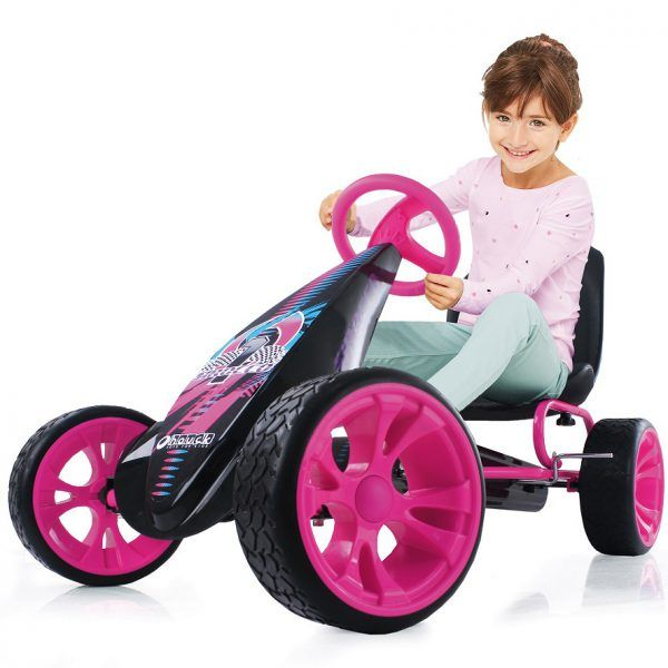 Kart a pedales Sirocco Rosa 3