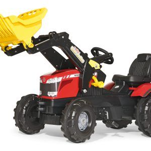 Tractor Massey Fergusson con Pala