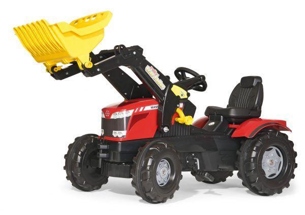 Tractor Massey Fergusson con Pala 3