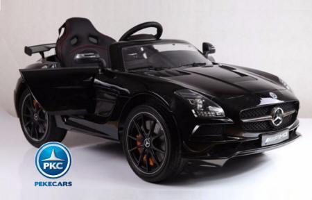 Mercedes Deportivo SLS, 12V, 2.4G Color Negro 3