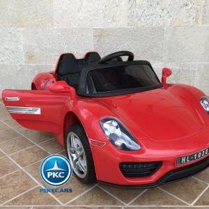 Porsche Style 12V Rojo