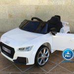 PEKECARS AUDI TT RS 12V WHITE 2.4G 12V
