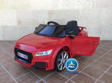 PEKECARS AUDI TT RS 12V RED 2.4G 12V 3