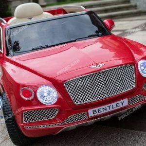 Coche Eléctrico infantil Bentley Bentayga 12V 2.4G Rojo