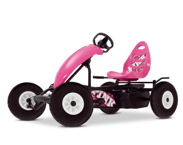 KART A PEDALES COMPACT PINK BFR 3