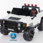 BIG Hummer Style 12V Blanco