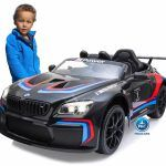 BMW M6 GT3 12V 2.4G Negro
