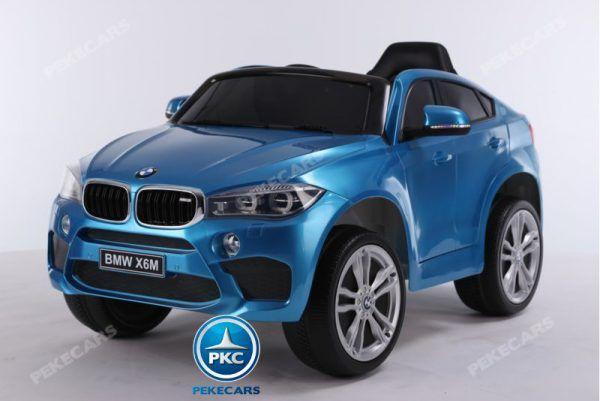 BMW X6M 12V 2.4G Azul Metalizado 3