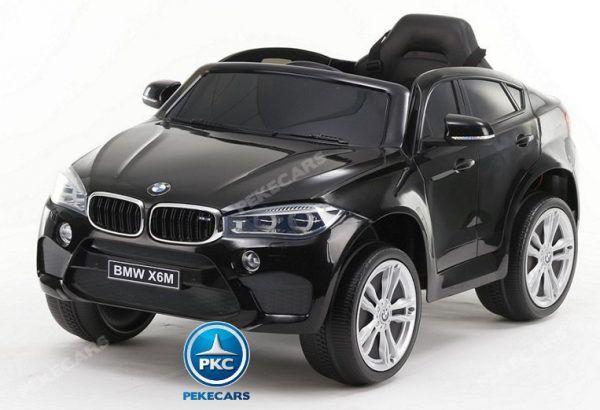 BMW X6M 12V 2.4G Negro Metalizado 3