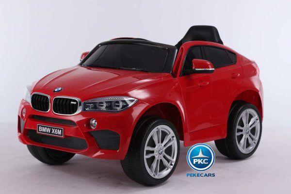 BMW X6M 12V 2.4G Rojo 3