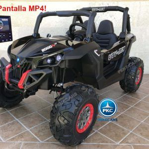 Buggy UTV Todoterreno 12V MP4 Negro