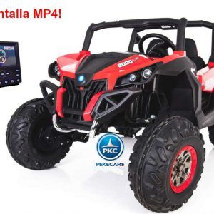 Buggy UTV Todoterreno 12V MP4 Rojo