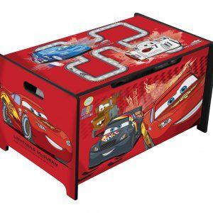 Caja de Juguetes de Cars