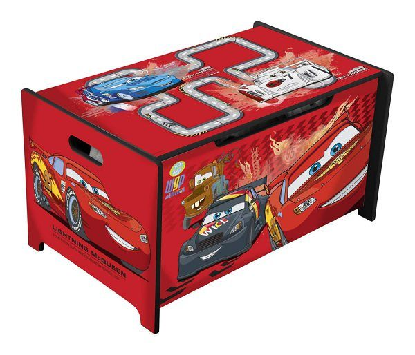 Caja de Juguetes de Cars 3