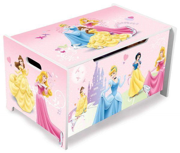 Caja de madera para Juguetes Princesas Disney 3