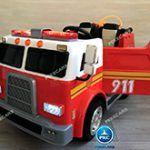 Camión de bomberos a batería niños