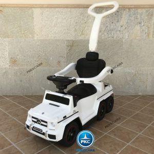 Correpasillos Mercedes GL63 Blanco 6V