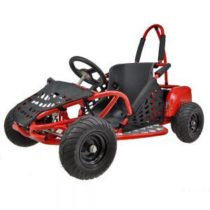 Kart Eléctrico Pekecars 48V 1000W Rojo