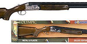 Escopeta de caza de metal superpuesta