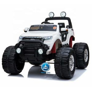 Ford Monster Truck 12V 2.4G Blanco