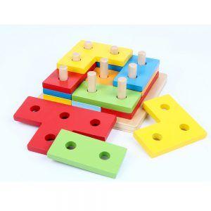 Puzzle de Madera 12 Piezas