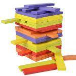 Torre de Ladrillos Multicolor de Madera