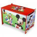Caja de Juguetes de Madera Mickey Mouse